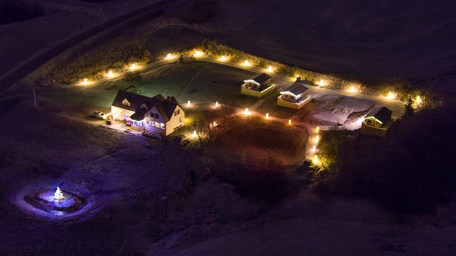Silva Holiday homes, Eyjafjarðarsveit
