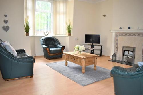 Beautiful Marine Park 2 Bedroom Apartment, North Tyneside