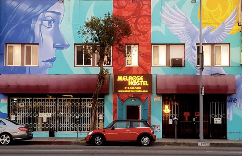 Melrose Hostel, Los Angeles