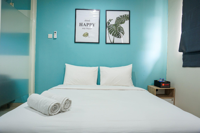 Homey Stay 1BR Apartment @ Atlanta Residence By Travelio, Depok