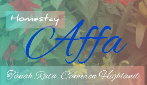 Homestay AFFA, Cameron Highland, Cameron Highlands