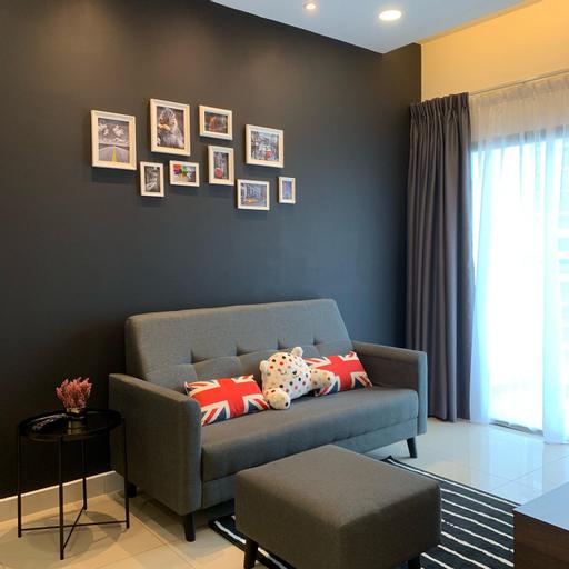 COZY HOME Wifi 2-6person MRT BALAKONG Landmark, Hulu Langat