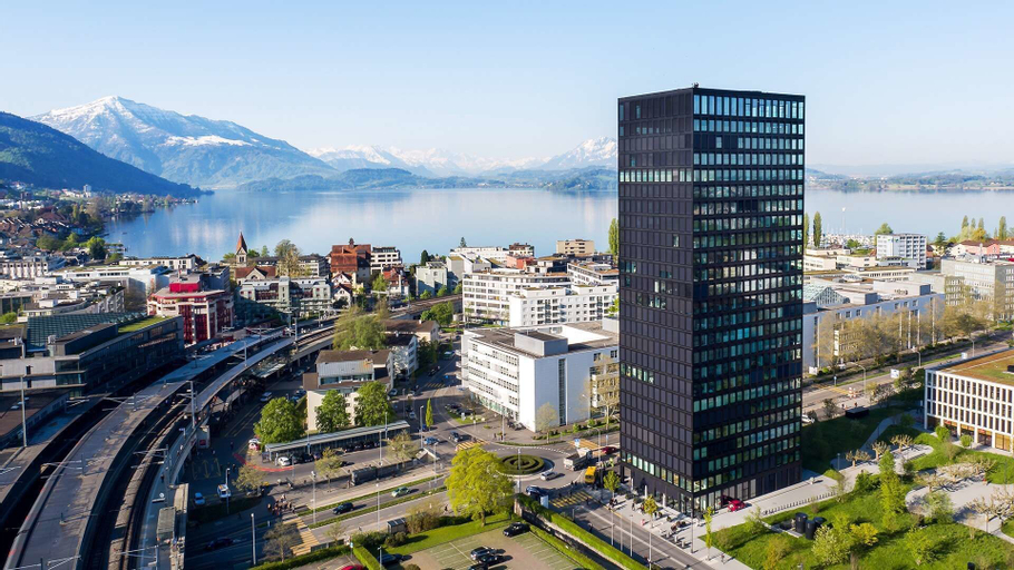 Park Tower City View Apartments, Zug
