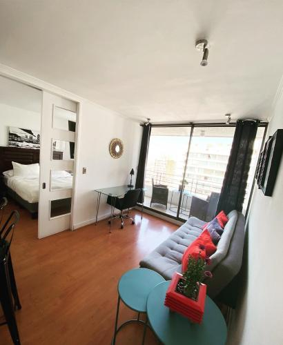 David Apartments Manuel Montt, Santiago