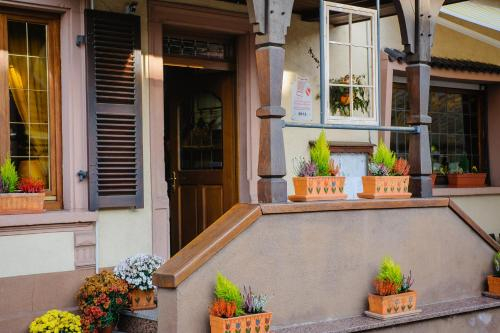 Hotel Restaurant La Couronne - Room Service disponible, Bas-Rhin