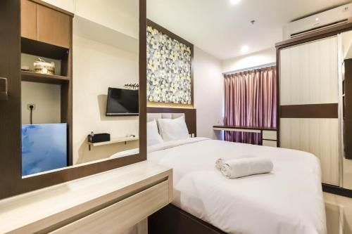 City View Studio Apartment at Grand Kamala Lagoon By Travelio, Bekasi
