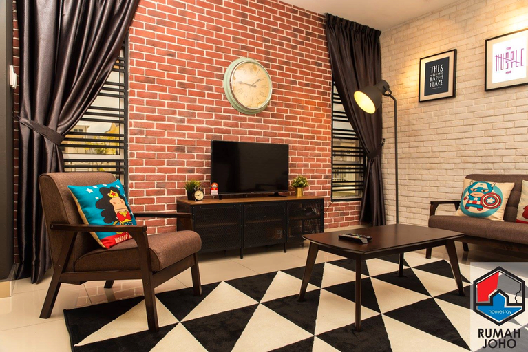 Rumah Joho - 2 Storey Terrace Homestay, Johor Bahru