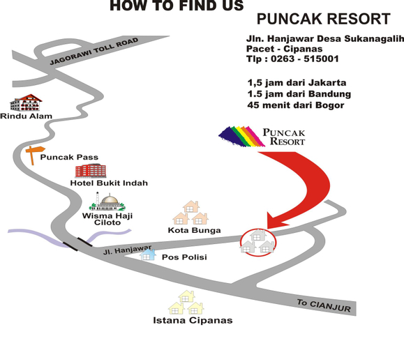 Puncak Resort Drive 195 By Aryaduta, Cianjur