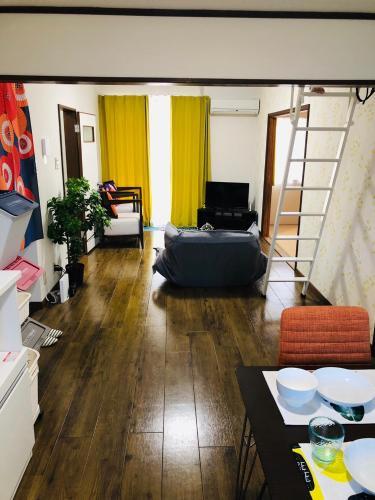 Keiko's Home 大空間2LDKロフト付きfree parking 201, Nakagawa