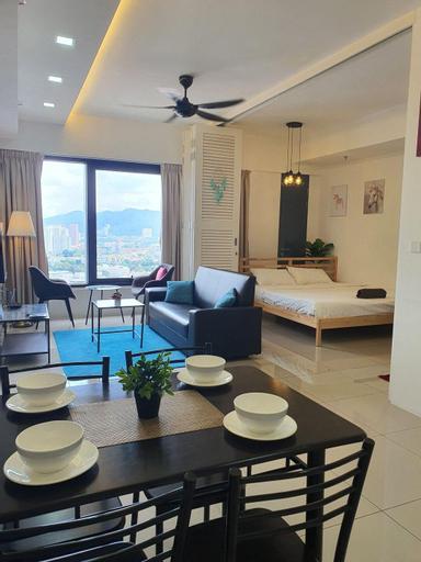 nice stay & best view 218 Macalister Tropicana, Pulau Penang