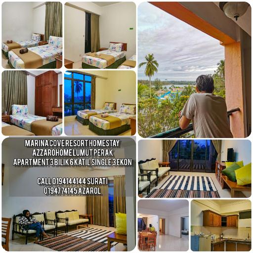 Marina Cove Homestay AzzaroHome 3 Room Lumut, Manjung