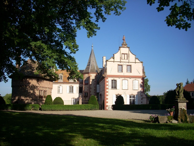 Le Château d'Osthoffen, Bas-Rhin