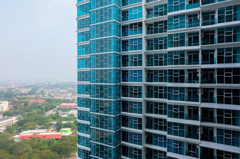 Best Price 1BR Brooklyn Apartment near Gading Serpong By Travelio, Tangerang Selatan