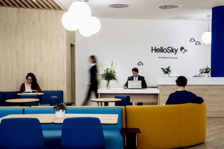 Air Rooms Rome Airport by HelloSky, Roma