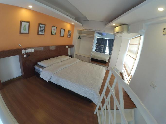 Pillow Talk @The CEO Duplex Loft*A/port 6.5km*wifi, Pulau Penang