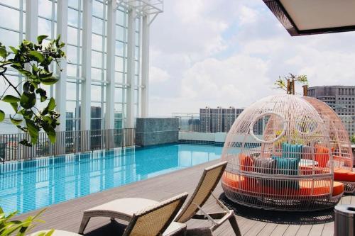 Homely & Comfy Suasana Suites in JB, High Floor, Johor Bahru