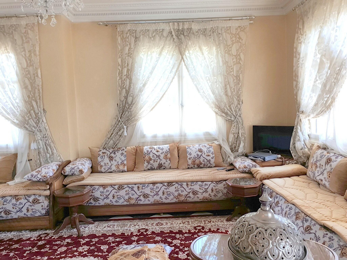 Apartment With one Bedroom in Habous, Casablanca, With Furnished Terrace and Wifi, Casablanca