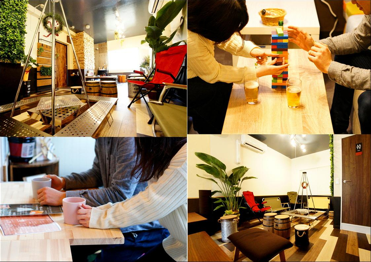 We Home hostel and kitchen, Ichikawa