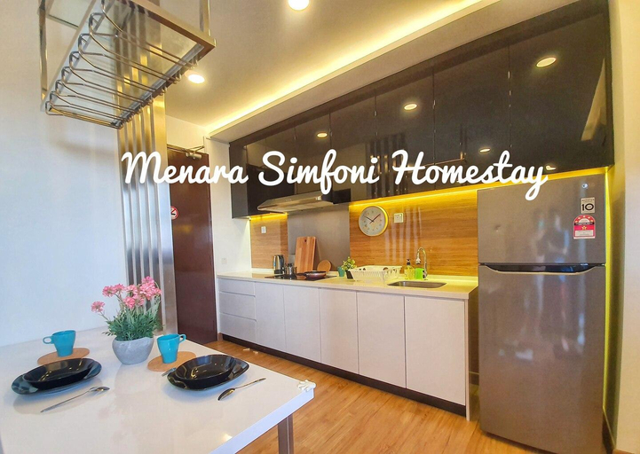 Menara Simfoni Homestay (High Floor with Balcony), Hulu Langat