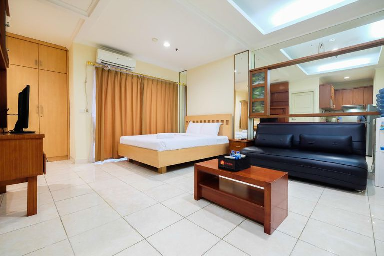 Simply Studio Room at City Home Apt By Travelio, North Jakarta