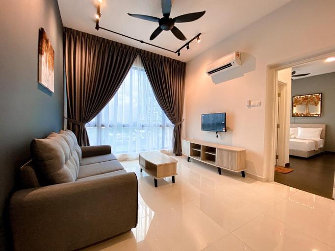 SKS Pavillion@UHA 2BR 4pax WiFi 2min SgCIQ, Johor Bahru