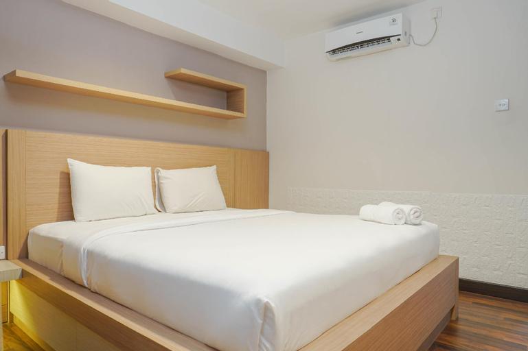 Cozy Studio Room Tamansari The Hive Cawang Apartment By Travelio, Jakarta Timur
