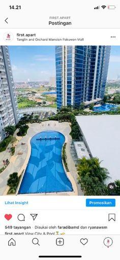 Apartemen Tanglin & Orchard Connect pakuwon mall, Surabaya