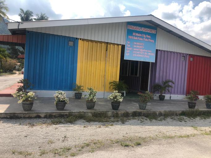KontenaStay colourfully , Barat Daya