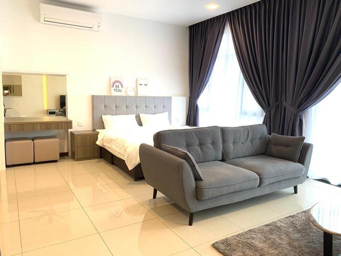Molek Regency@UHA Studio 1-3pax Luxury Free WiFi, Johor Bahru