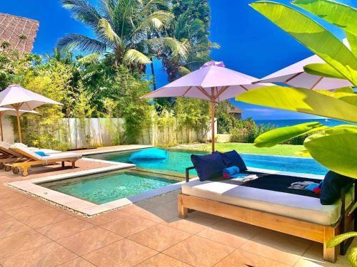 Bali Serenity Villa Beachfront Rice field view, Buleleng