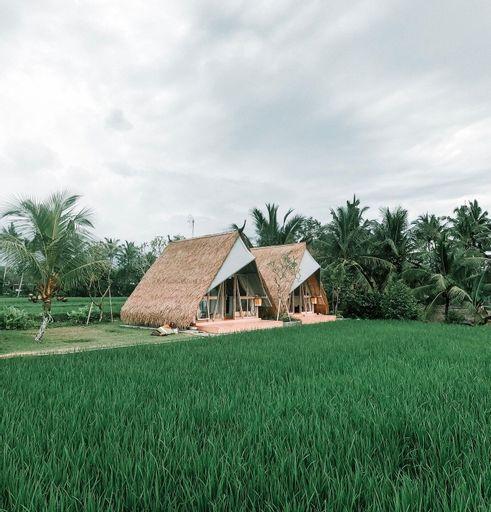 Beautiful Panoramic Rice Field - Segitiga Haus, Gianyar