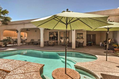 Lake Havasu City Paradise with Private Pool & Patio!, Mohave