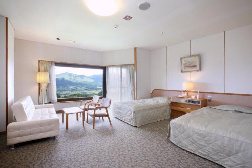 South Aso and Relaxing Spa Resort Hotel Greenpia Minamiaso, Minamiaso