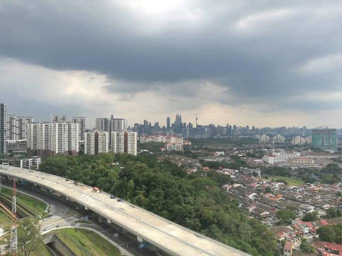 A fantastic KL City view landscape of KLCC , Kuala Lumpur