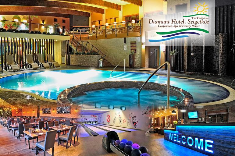 Diamant Hotel Superior Conference - Spa & Family Resort, Mosonmagyaróvár