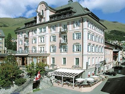 Hotel Engiadina, Maloja