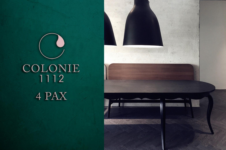 Colonie 1112 - 4 pax, Raub