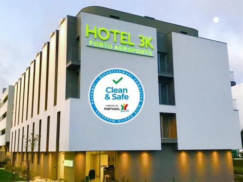 Hotel 3K Porto Aeroporto, Maia