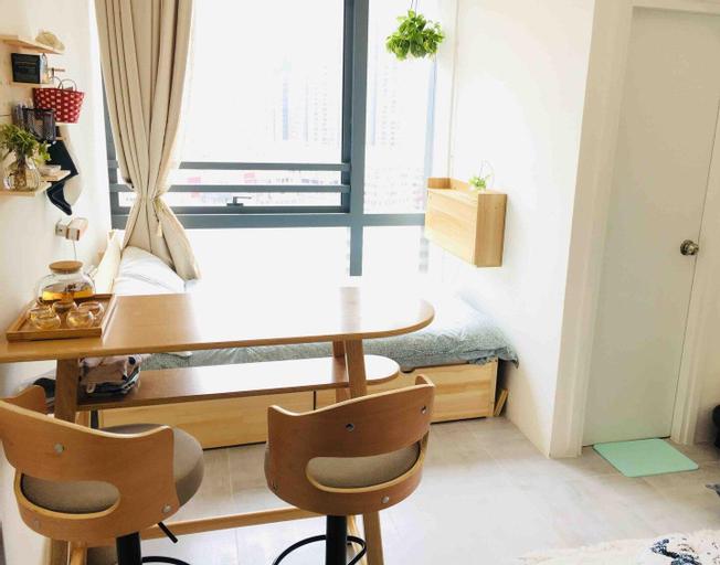 Bright Cozy Studio😎 - 舒適開放式公寓(8分鐘到太子/旺角/奧運站), Yau Tsim Mong