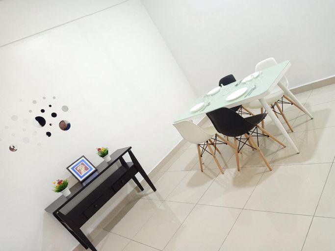 J&A Green & Refreshing Home 3 rooms 6-7 pax @ BM, Seberang Perai Tengah