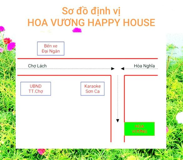 Hoa Vuong Happy House, Chợ Lách