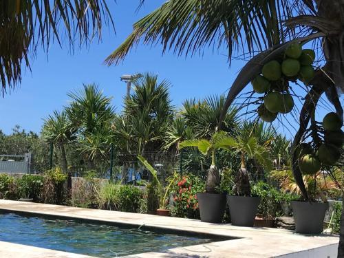 Bras-Panon: Maison avec vue et piscine 1-4 pers., Bras-Panon