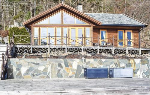 Four-Bedroom Holiday Home in Farsund, Farsund