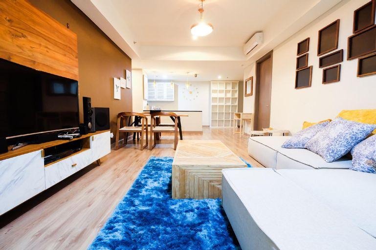 Luxurious 2BR St Moritz Puri Apartment By Travelio, West Jakarta