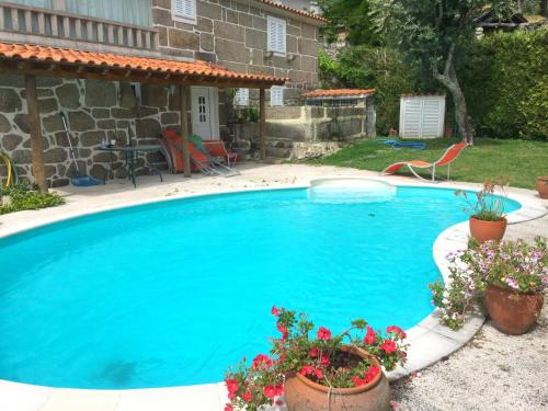 Villa with 4 bedrooms in Penafiel with wonderful mountain view private pool enclosed garden 50 km fr, Penafiel