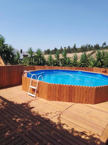 House with 3 bedrooms in Santa Luzia with wonderful mountain view private pool furnished terrace 40 , Ourique