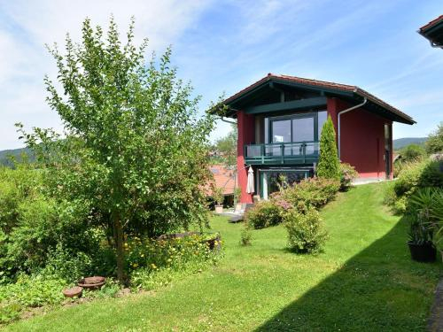 Tranquil holiday home in Blossersberg Bavaria offering private terrace with country views, Regen