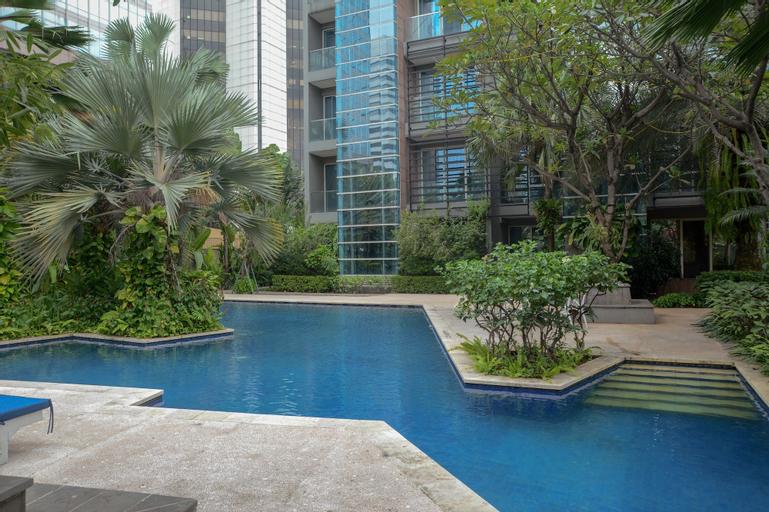3 Bedrooms Premium Sudirman Residence by Travelio, Jakarta Selatan