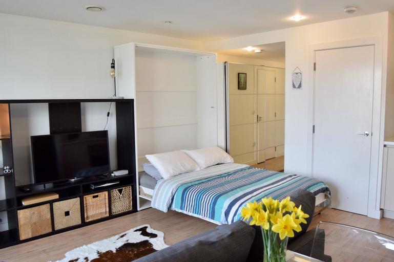 Stylish 1 Bedroom Studio near Canary Wharf, London