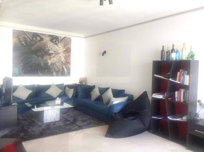 Apartment With one Bedroom in Casablanca, With Enclosed Garden and Wifi - 2 km From the Beach, Casablanca